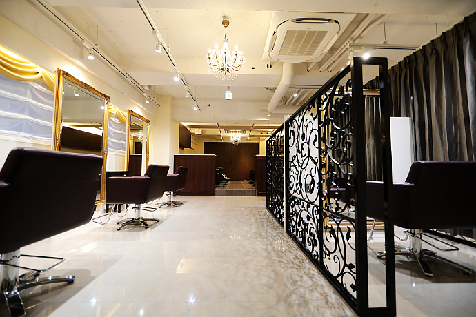 hairsalon de LUMIC店内画像01